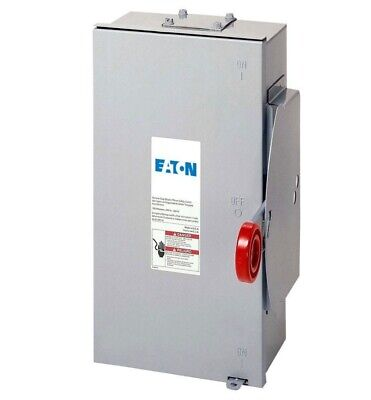 Eaton 100 Amp 24000 Watt Outdoor Electrical Double Throw Safety Transfer Switch