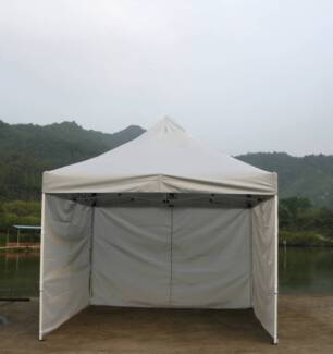 New Pop Up Gazebo Folding Tent Marquee Canopy Shade 3X3M Offwhite