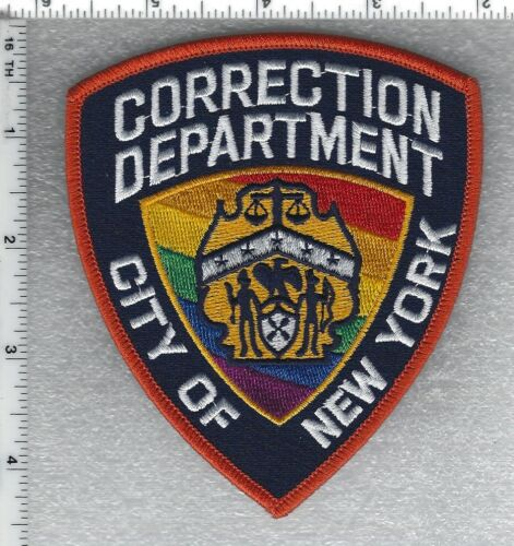PRIDE New York Corrections Shoulder Patch (new for 2021 - may be worn in June)