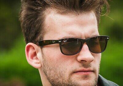 RAY BAN-NEW-WAYFARER 2132 710/51-58MM-Sunglasses-LIGHT BROWN (Ray Ban 2132 Brown)