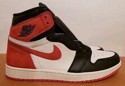 Size 11.5 Nike Air Jordan 1 Retro High OG Track Red best hand Brand NEW bred