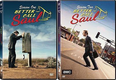 Better Call Saul TV Series Complete Season 1-2 (1 & 2) BRAND NEW US DVD