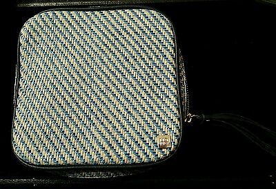 Hudson Bleecker San Remo Blu Stella Jewelry Cosmetic Travel Organizer Case New