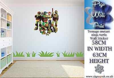 Teenage mutant ninja turtles Wall Sticker Children's Bedroom decor large - Ninja Turtles Bedroom Decor