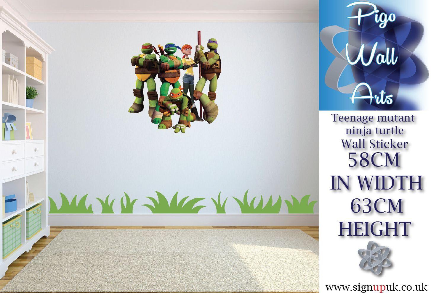 Teenage Mutant Ninja Turtles Wall Sticker Children 39 S