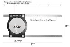 """OEM Systems RIR-8 Universal 8"""" In-Ceiling Pre-Construction Rough-In Brackets"""