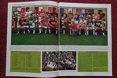 1968 Magazine Photo Page All American College Football Team ~ O.J. Simpson USC