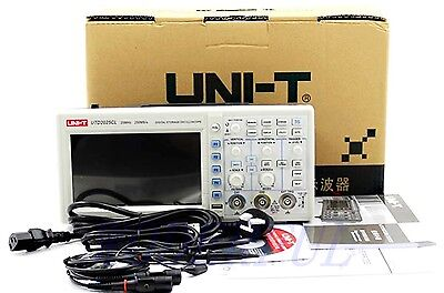 Utd2025cl 25mhz 250mss Digital Storage Oscilloscope Dso Plug-and-play Usb