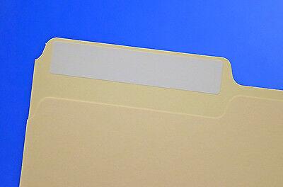 File Folder Labels Laser or Inkjet 50 sheets FF66W White Permanent Adhesive