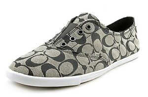new coach signature sneakers slip on tennis shoes
