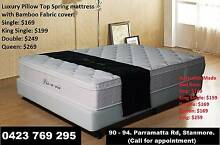 Premium Quality Back Support Pocket Spring Mattress Factory Price Sydney City Inner Sydney Preview