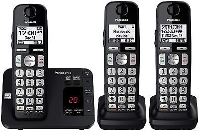 6.0 Expandable Cordless Phone System with Answering Machine and Call (Cordless Phones With Call Blocking And Answering Machine)
