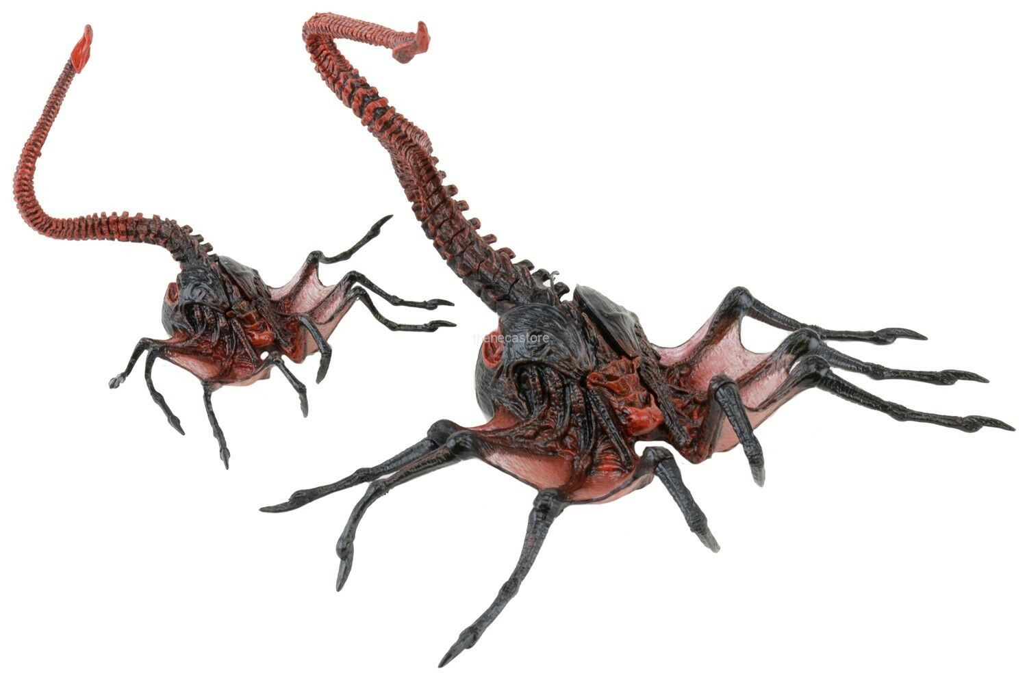 "Aliens - 7"" Scale Action Figure - Series 10 - Alien Queen Facehugger - NECA"