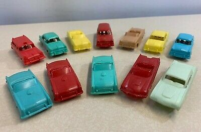 Lot 12 F&F Mold Cars T-Birds Ambulance Convertibles Etc Cereal Premium