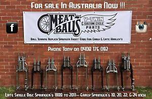 Harley Davidson Springer Front Ends - Wide Glide - Front Forks - Bendigo Bendigo City Preview