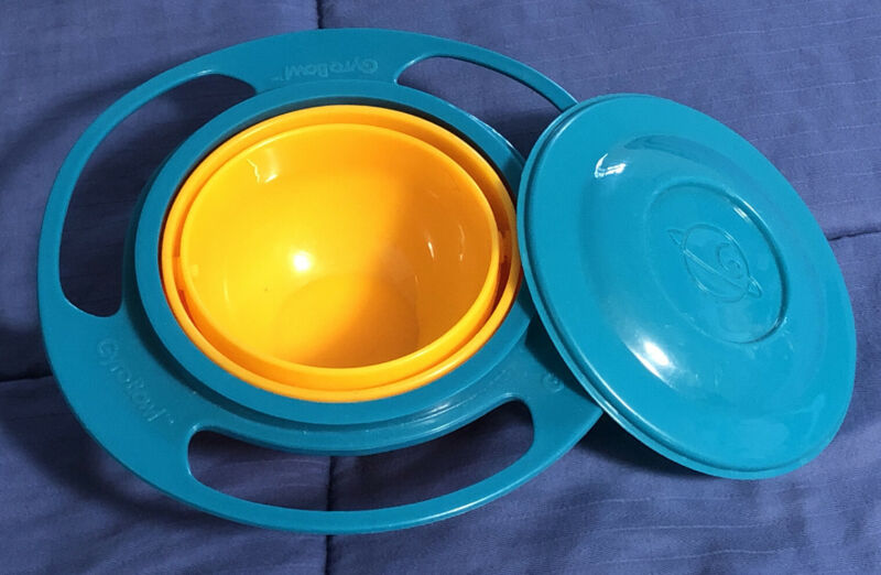 Gyro Bowl 360 Rotating No Spill Baby Dish