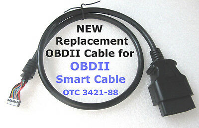 OTC 3421-88 OBDII Smart Cable Replacement OBD2 Repair For Genisys EVO Matco Mac