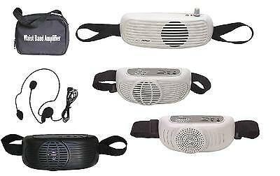 Audio2000'S AWP6201 6202 6202B 6203 Waist Band Portable Amplifier Pa System-MR