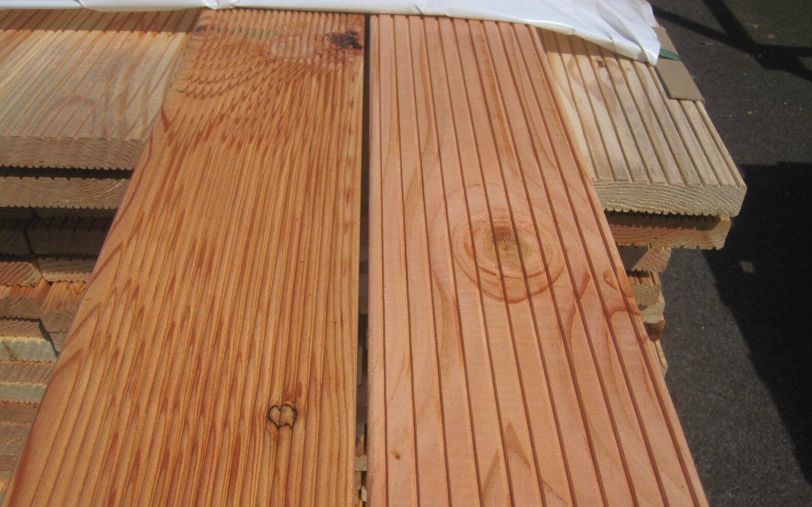 40 m douglasie 2 wahl terrassendielen terrassenholz holz l rche farbig 2 m lang eur 300 00. Black Bedroom Furniture Sets. Home Design Ideas