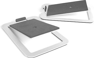 Kanto S4 Desktop Speaker Stands for Midsize Speakers, Alumin