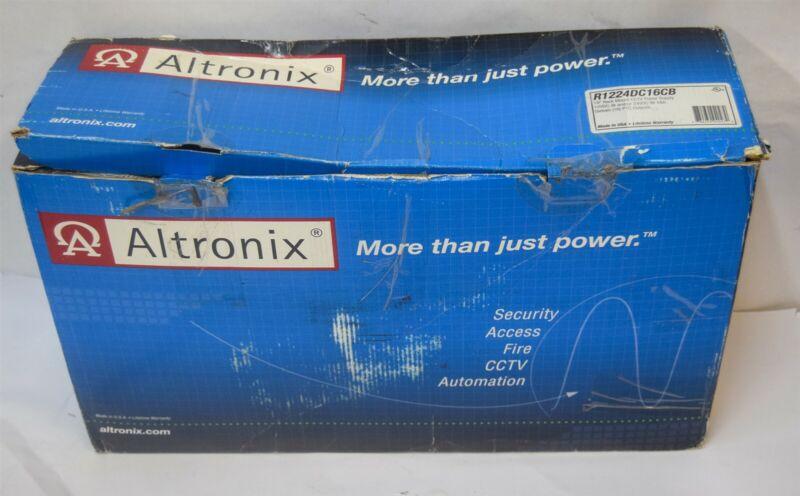 Altronix R1224DC16CB 12VDC 24VDC 18A 16PTC CCTV Power Supply