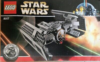 Lego Star Wars 8017 Darth Vaders TIE Fighter, 100% Complete. 10th Aniversary.