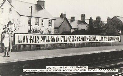 AK the railway station, Llan-fair-pwll-gwyn-gyll-goger-y-chwyrn-...