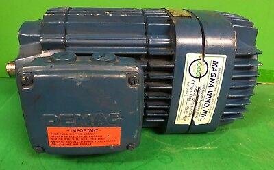 Mannesmann Demag 3.2 Hp Type Kba 90 B 4 Crane Motor - 575v 3 Phase 1690 Rpm
