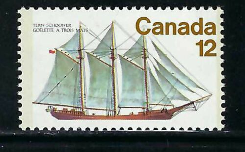 CANADA - SCOTT 745 - VFNH - SAILING VESSELS - FIVE-MASTED SCHOONER - 1977