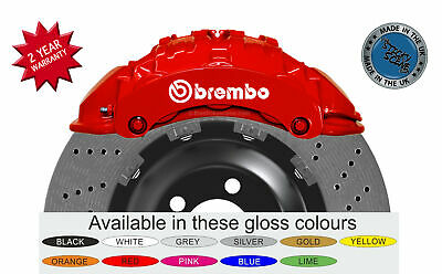 Mitsubishi Evolution 9 Brembo brake caliper decals - set of 4 stickers