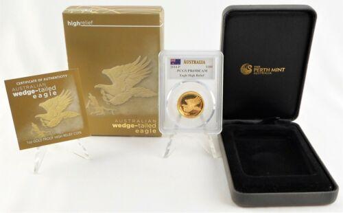 2014 Australia Wedge-Tailed Eagle 1 Oz. Gold Proof PCGS PR69DCAM Mercanti Signed