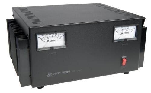 ASTRON POWER SUPPLY RS-70M-AP (latest model) 13.8VDC 70A. BRAND NEW W/ WARRANTY