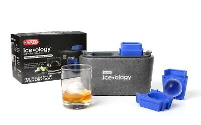 Dexas Iceology Silicone Craft Ice Maker - Cleverly Clear Ice - Ice Sphere Maker