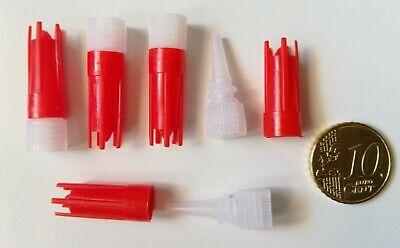 Tapón rosca tubo pegamento E6000 3 ml 5 ml X 5 UNIDADES...