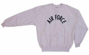 SOFFE U.S. AIR FORCE MILITARY ASH SWEATSHIRT PULLOVER UNISEX SIZES XXL NWT