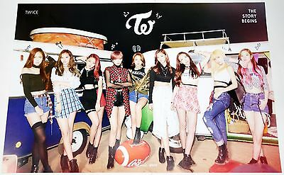 TWICE - THE STORY BEGINS (1st Mini Album) OFFICIAL POSTER
