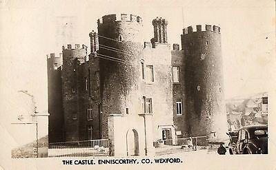 THE CASTLE ENNISCORTHY CO. WEXFORD IRELAND RP IRISH POSTCARD by PADRAIG KENNELLY