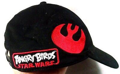 Angry Birds Star Wars Ball Cap Kids Snapback One Size 2012 Lucas Film Boys Girls