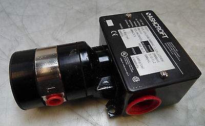 NEW Ashcroft Differential Pressure Switch, # D424T, 60 PSID,  WARRANTY