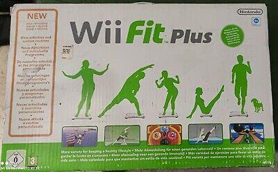 Nintendo Wii Fit Plus + Balance Board Bianco GENUINE NINTENDO Wii Wii...