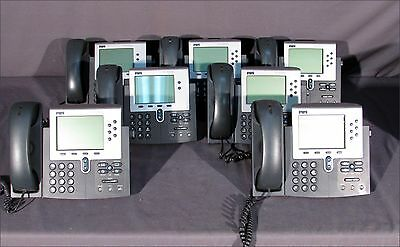 Lot Of 7 Cisco Cp-7940g Telephones