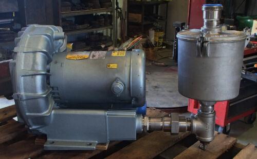 Gast Regenair Regenerative Blower Vacuum Loader Blower R5325A-2 50/60HZ Baldor