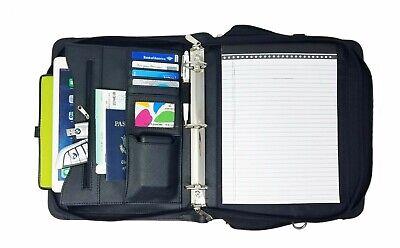1.5 Inch 3-ring Binder Folder Portfolio Organizer Planner Briefcase Handle