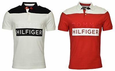 Tommy Hilfiger Men's Custom Fit Performance Logo Polo Shirt