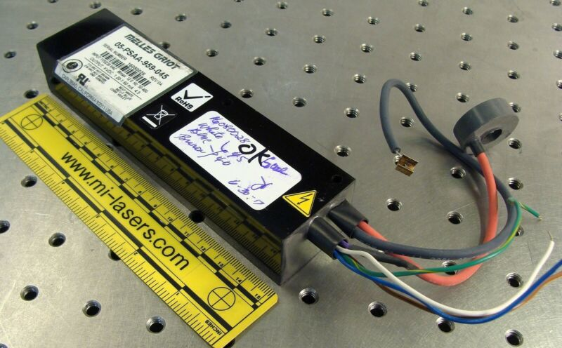 HELIUM NEON HeNe POWER SUPPLY small tube AC input MELLES GRIOT 05-PSAA-959-045