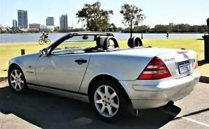Mercedes-benz SLK 230 1998 Coupe Supercharged Hardtop Convertable.