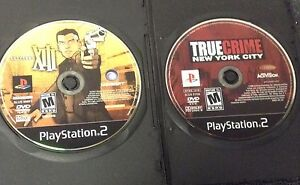 Two PS2 games: Thirteen XIII & True Crime NYC