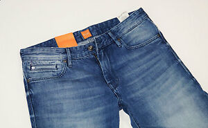 NUEVO-HUGO-BOSS-ORANGE-24-BARCELONA-W32-L34-BLUE-JEANS-DENIM-32-34