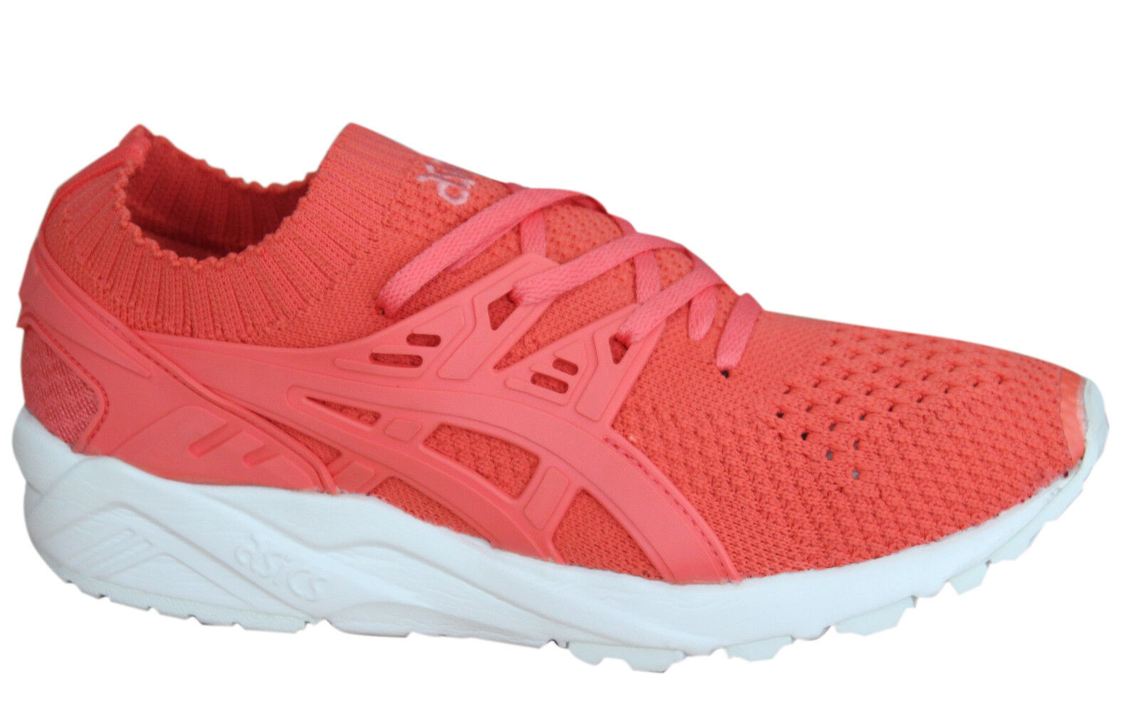 5e65d2f59d850 Details about Asics Gel-Kayano Trainers Knit Womens Shoes Lace Up Textile  Peach H7N6N 7676 D40