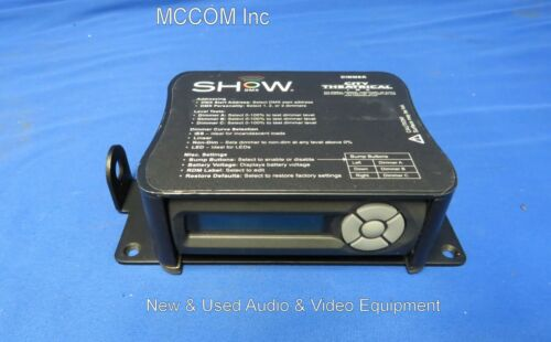 City Theatrical 5620 Show DMX 3 Channel 10A Dimmer - NO power supply